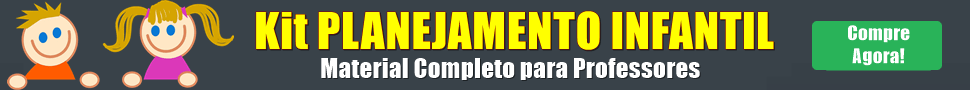 Banner do Kit do Planejamento Infantil