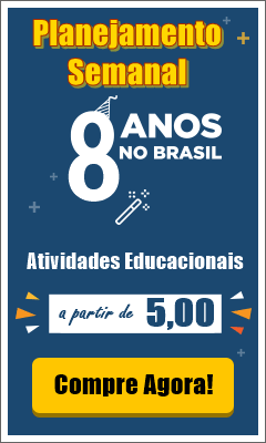 Banner do Planejamento Semanal para Educação Infantil