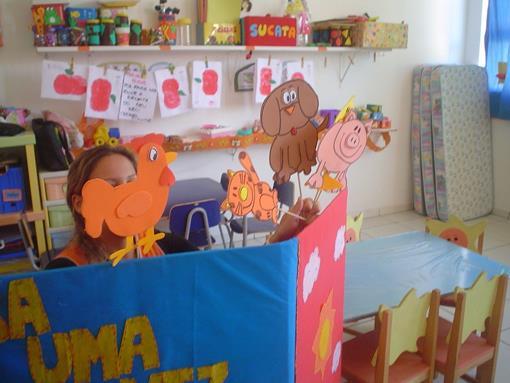 Planejamento Semanal para Educação Infantil Fantoches
