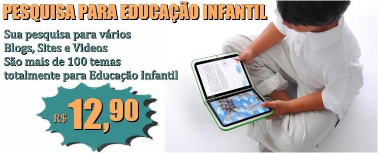 Pesquisa para Educação Infantil